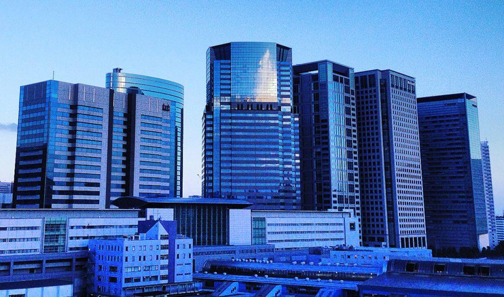 PrintshopGRAPからの品川駅